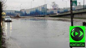 Ulica pod wodą.