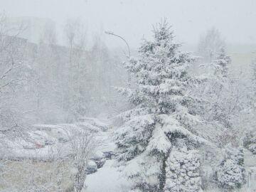 piotr_ruta Śnieżna Wielkanoc na Ursynowie