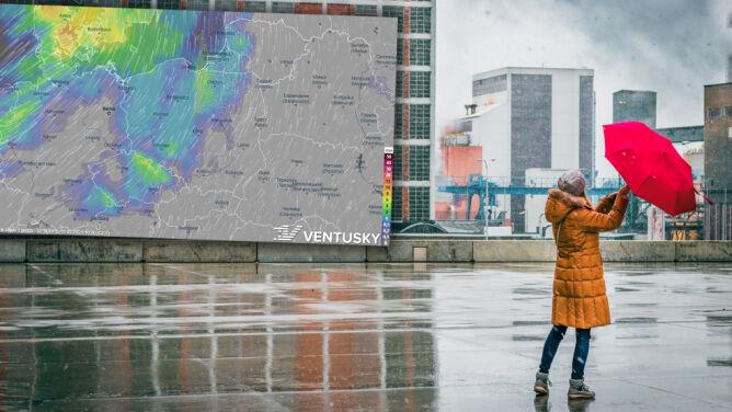 Pogoda na 5 dni: Będzie jak w przysłowiu. Śnieg i deszcz, słońce, wiatr