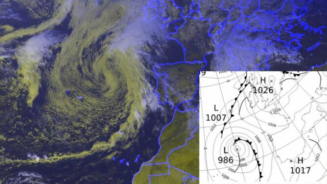 Joaquin w Europie. Hiszpanie w oczekiwaniu na posttropiklany cyklon