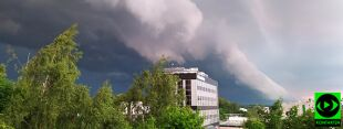 Niebezpieczna środa w Polsce. Wasze pogodowe relacje
