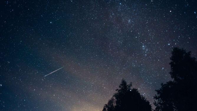 Na nocne niebo wróciły Perseidy. <br />Ich maksimum przypadnie 12 sierpnia