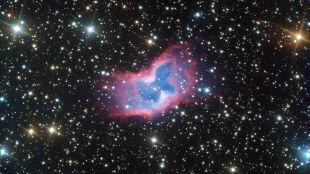 Ten kosmiczny bąbel gazu przypomina motyla. Odkrycie astronomów z ESO