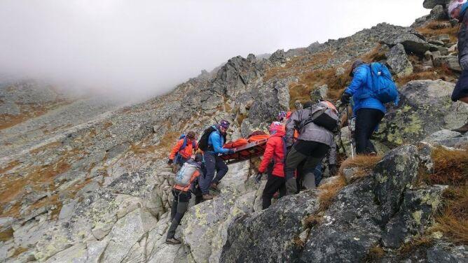 Piorun zabił Polaka w słowackich Tatrach
