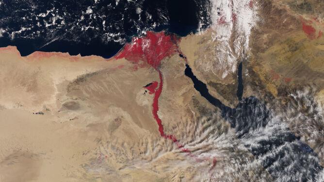 Krwistoczerwony Nil. Czy to plaga egipska?