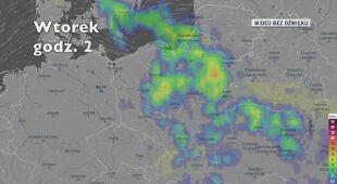 Opady deszczu w ciągu kolejnych pięciu dni (Ventusky.com)