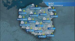 Prognoza pogody na noc 12/13.05